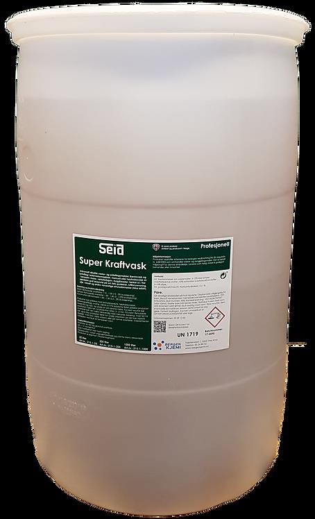 Seid Super Kraftvask. 205 liter. Profesjonell