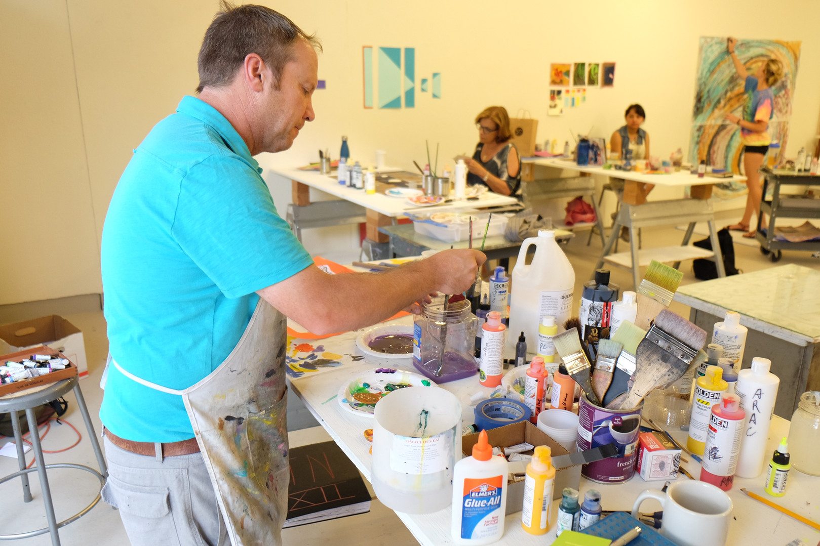 Painting Workshop: Color With Purpose at Anderson Ranch Art Center, 2016