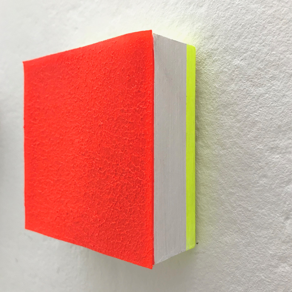 Fluorescent Orange with Neon Side