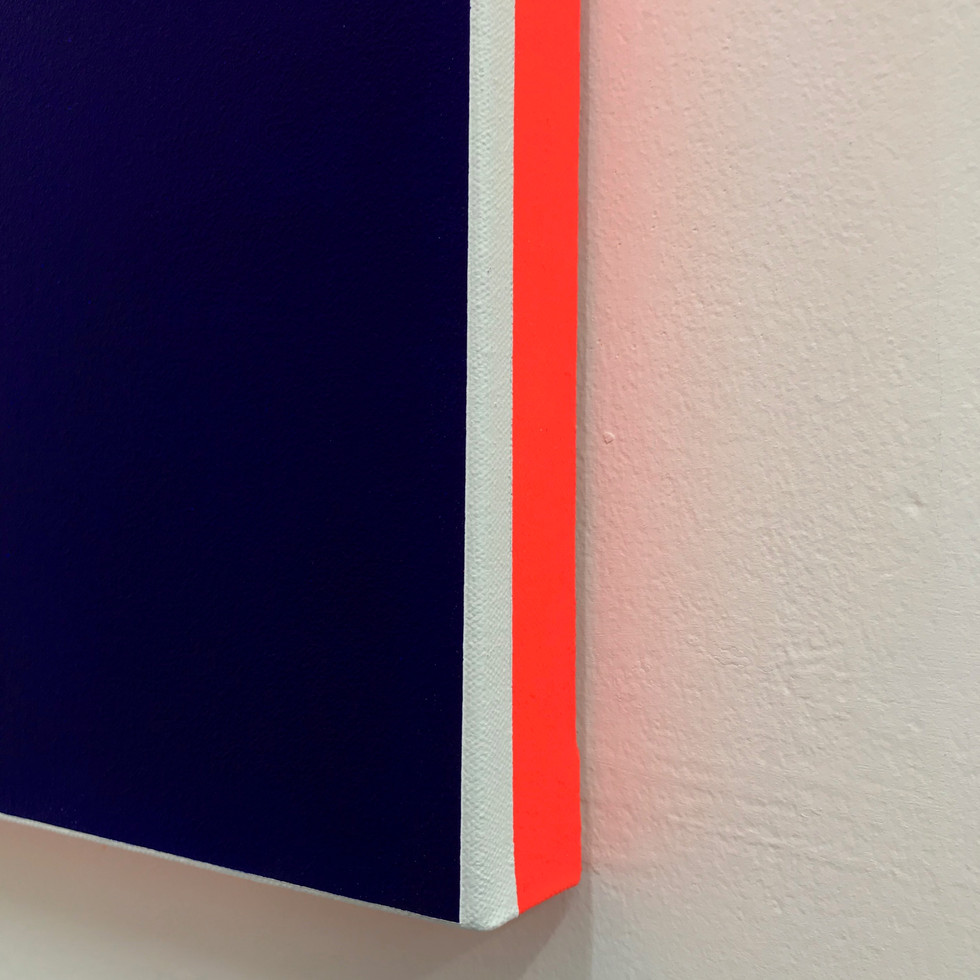 Details of Ultramarine with Neon Sides