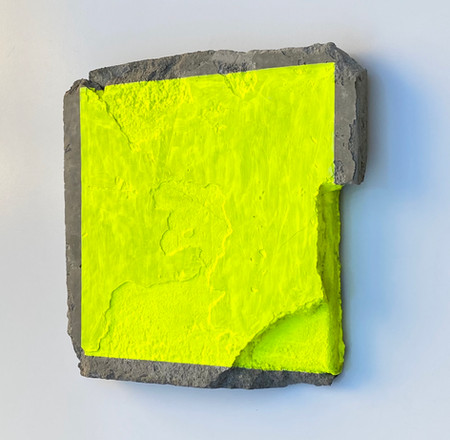 Nearly Square on Artificial Rubble (sideview)