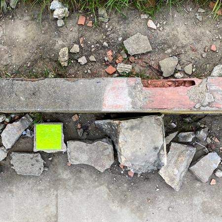 Square on a Rubble