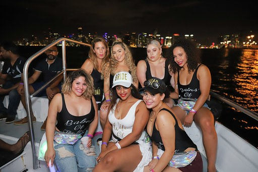 Miami Party Boats | Best Miami Booze Cruise- Miami Turn Up Entertainment