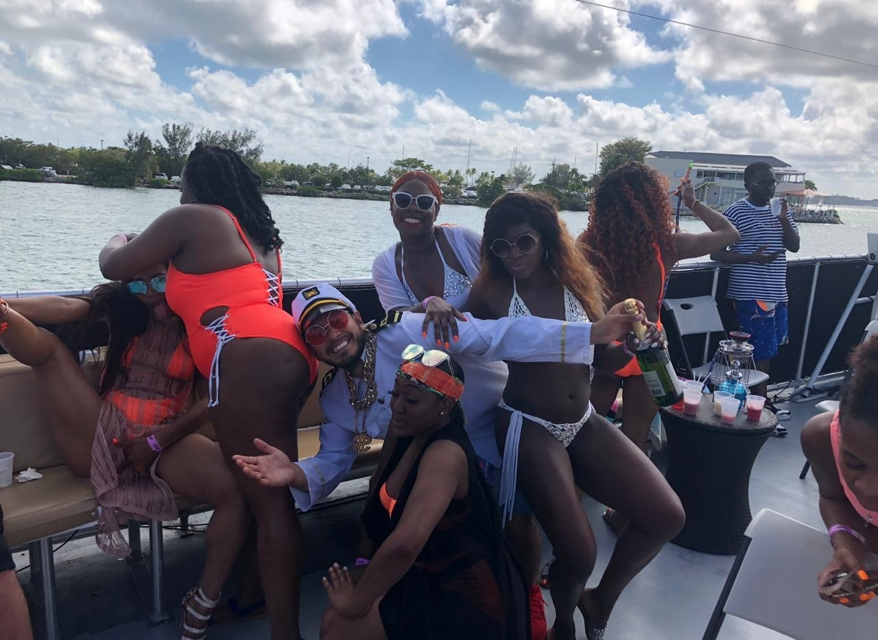 Miami Hip Hop Booze Cruise | Miami Party Boat- Miami Turn Up Entertainment