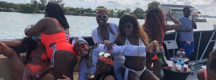 Miami Hip Hop Booze Cruise | Miami Party Boat- Miami Turn Up Entertainment