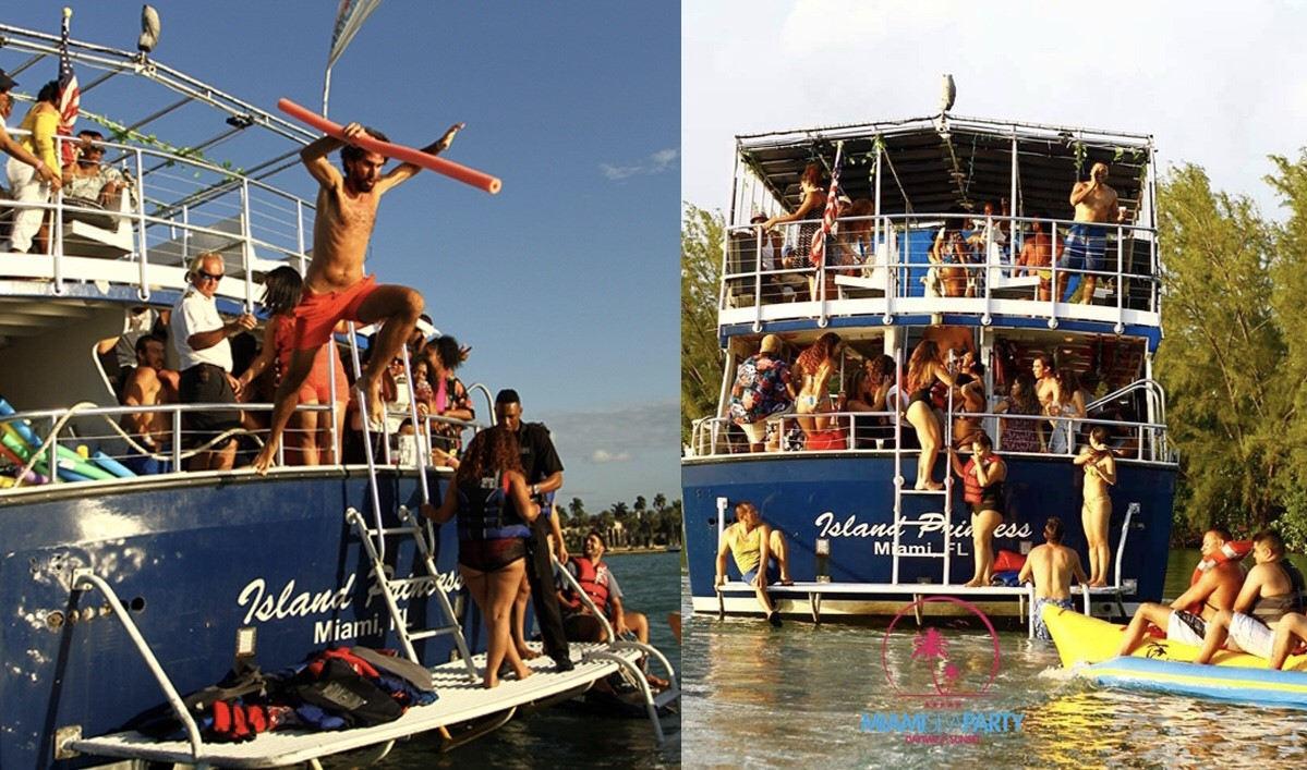 Miami Booze Cruise | Miami Party Boat- Miami Turn Up Entertainment