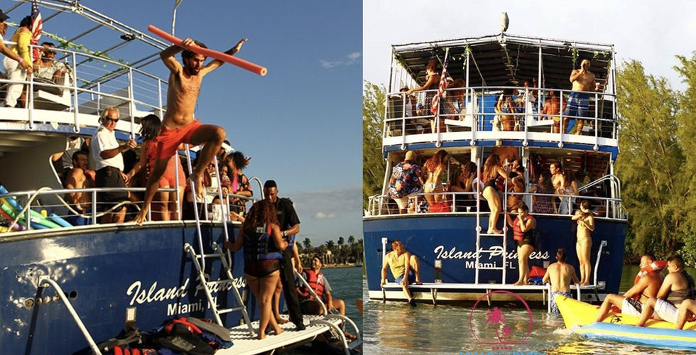 Miami Booze Cruise | Miami Party Boat- Miami Turn Up Entertainment