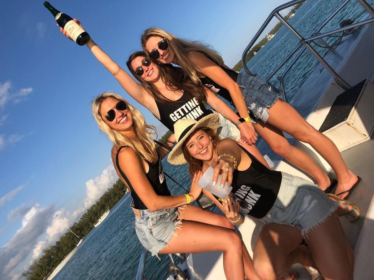 Bachelorette Party Boat Miami | Booze Cruise- Miami Turn Up Entertainment