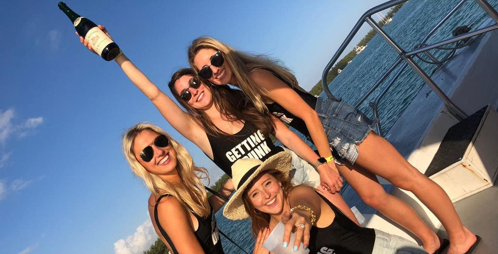 Bachelorette Party Boat Miami | Booze Cruise- Miami Turn Up Entertainment