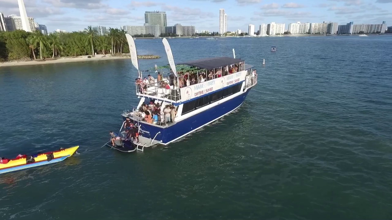Best Miami Party Boat: Miami Hip Hop Boat Party