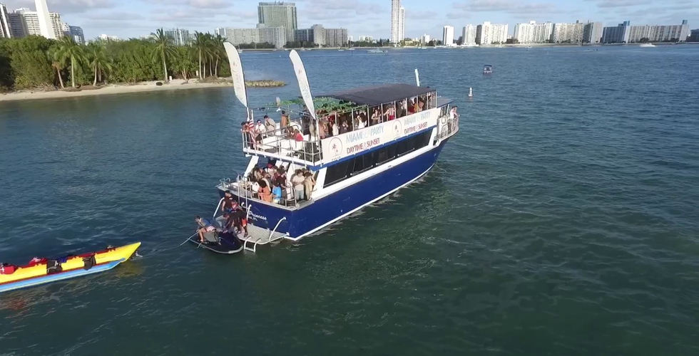Miami Sea Party | Miami Party Boat