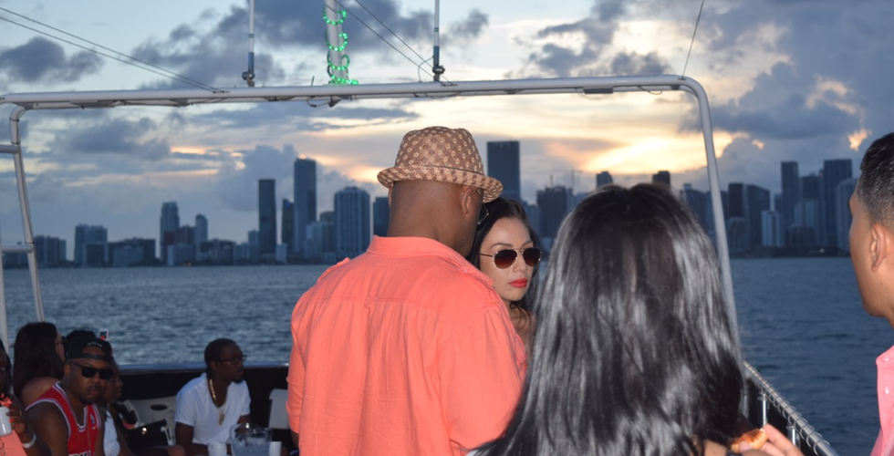 Miami Booze Cruise | Sunset- Miami turn Up Entertainment