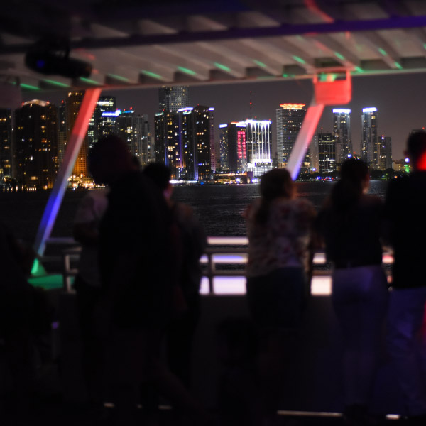 Miami Skyline | Party Boat Cruise