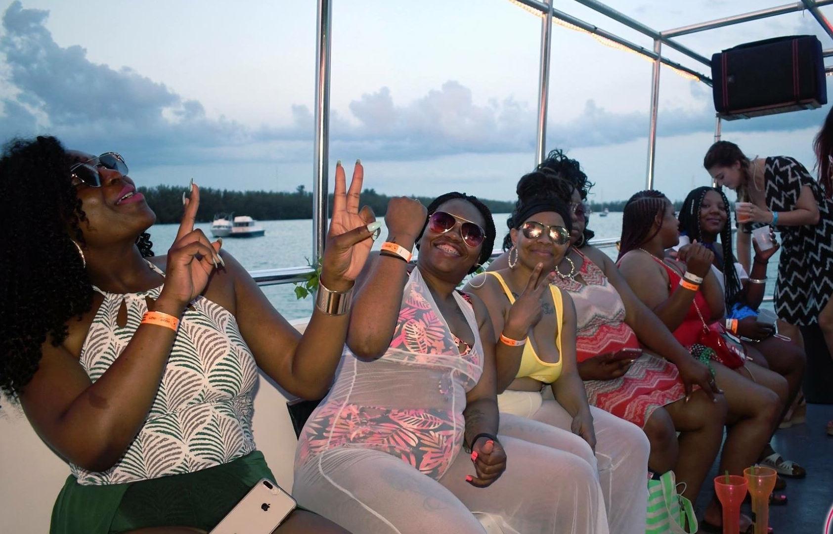 Miami Party Boat | Booze Cruise- Miami Turn Up Entertainment