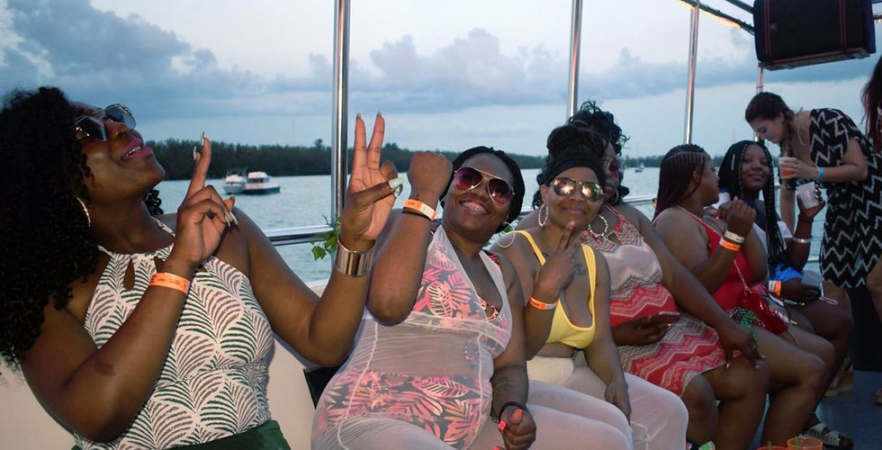 Miami Party Boat | Booze Cruise- Miami Turn Up Entertainment
