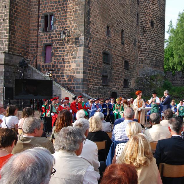 Soirée d'exception au château de Pontgibaud