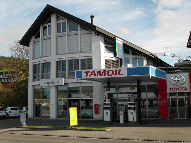 Tankstelle Garage Brun Reinach