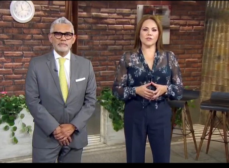 Invitación para una Entrevista en ADN40 TV el 4 de diciembre de 2019 sobre Cambios Fiscales 2020.