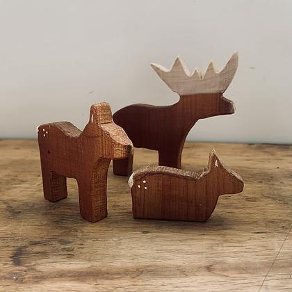 SECONDS - Deer Family