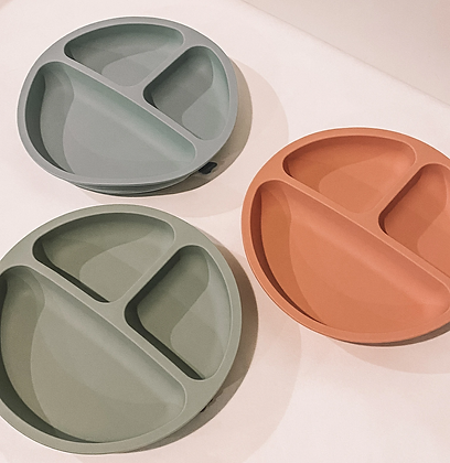 Petite Eat Silicone Suction Plate