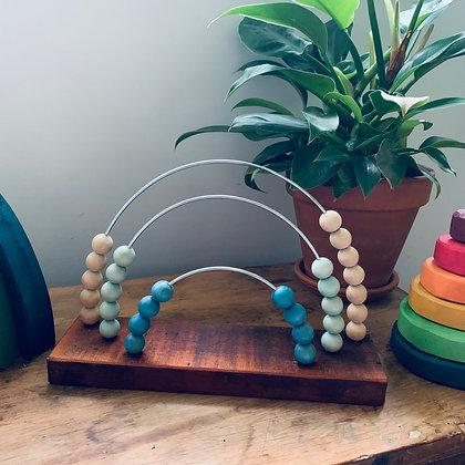 Reclaimed Rimu Rainbow Abacus