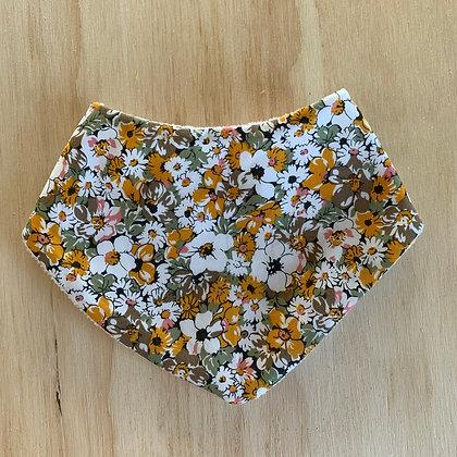 Vintage Floral Dribble Bib