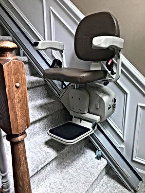 Stair Lift on stairs