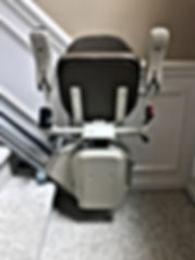 Stair Lift Folded