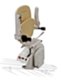 Stairlift Folded Position