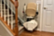 Folded Stair Lift Image