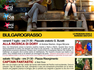 7, 15 e 28 luglio/ Arci Guernica/ Cinema sotto le stelle