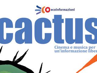 Arci ecoinfomazioni/ 17 e 24 marzo Cactus! allo Spazio Gloria