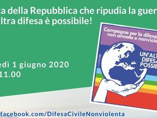 ARCI COMO Web TV/ Palinsesto 1 giugno 2020