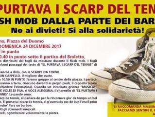 23 e 24 dicembre/ Bivacco solidale e Flash mob dalla parte dei barbun/ Contro l'ordinanza antipoveri