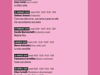 Dal 24 novembre/Arci Trebisonda/ Workshop, Come Lei Io