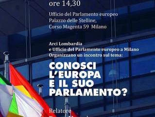 9 aprile/ Arci Lombardia/ Conosci l'Europa e il suo Parlamento?
