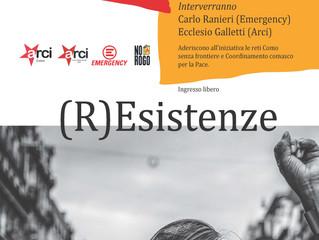 9 maggio/ Arci Virginio Bianchi con Emergency /(R)Esistenze per No Rogo