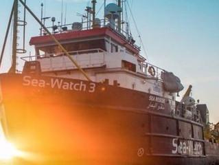 Sostegno e solidarietà dell'Arci alla Capitana della Sea Watch 3 arrestata dopo l'attracco a Lampedu