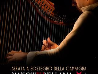 11 maggio/ Arci Xanadù/ Celtic harp Orchestra per ManchiTuNell'Aria