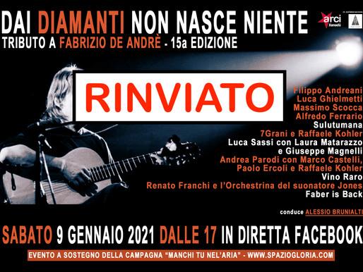 Dai diamanti non nasce niente - 15a edizione in streaming - RINVIATO!