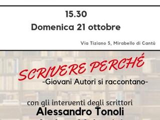 Arci Mirabello/ 2 dicembre/ Ultimo Caffè letterario
