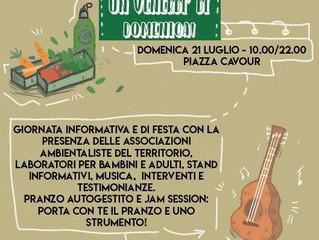 20-21 luglio/ FFF con Arci e altri/ Eurovelo5: Bike Strike e Un venerdì di domenica!