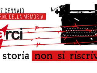 """27 gennaio: """"La Storia non si riscrive""""/ L'Arci celebra in tutta Italia la Giornata della Memor"""