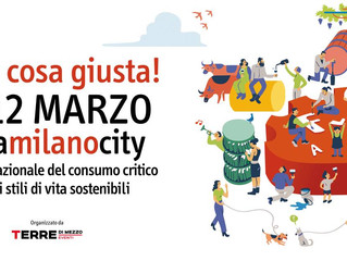 Fa' la cosa Giusta/ Milano 10 - 12 marzo