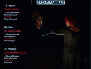 Arci Mirabello / Spettacolo!!! Piccola rassegna di teatro 2017
