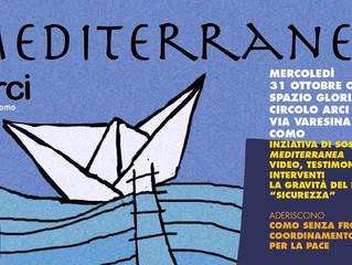 Arci Como/31 ottobre/ Mediterranea è a Como