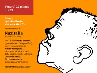 22 giugno/ Spazio Gloria/ Berizzi presenta NazItalia