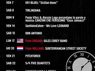 1-29 febbraio/ Arci All'Unaetrentacinquecirca/ Buona musica!/ ATTIVITA' SOSPESA FINO ALL&#39