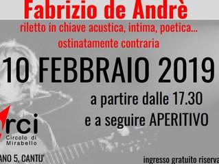 Arci Mirabello/ 10 febbraio/ Ero più curioso di voi