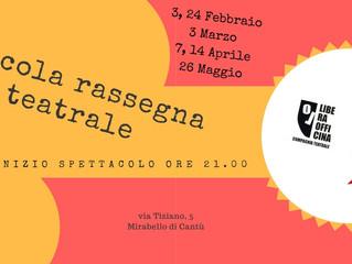 Arci Mirabello/ Piccola rassegna teatrale 2018